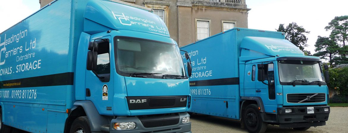 headington Carriers stately home move